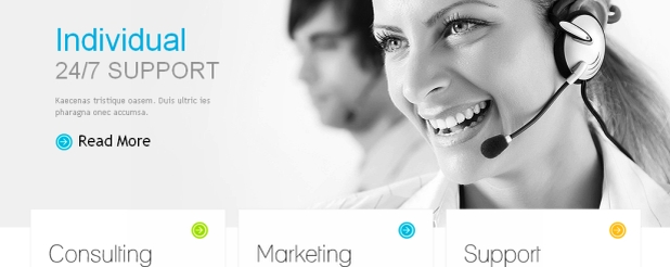 small business web design Joomla theme